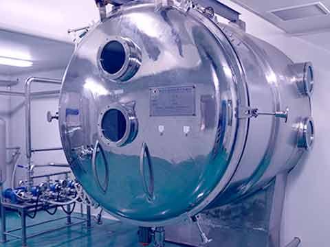 Vacuum Belt-Type Dryer